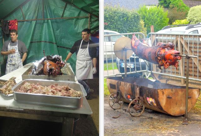 grille cochon