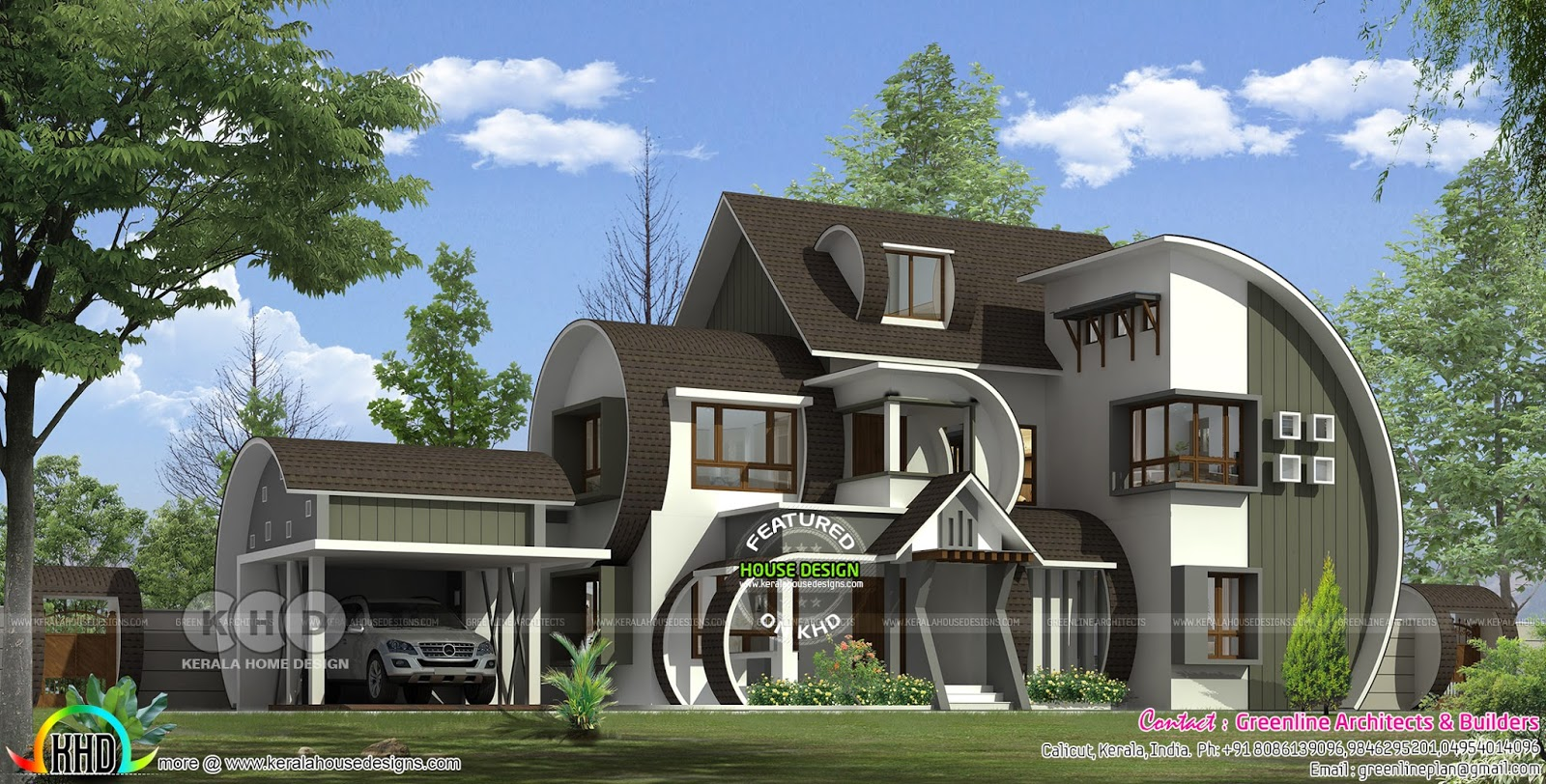 First unique ultra modern home of 2018