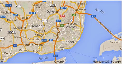 mapa cidade de lisboa portugal Paletar: LISBOA ( Portugal ) mapa cidade de lisboa portugal