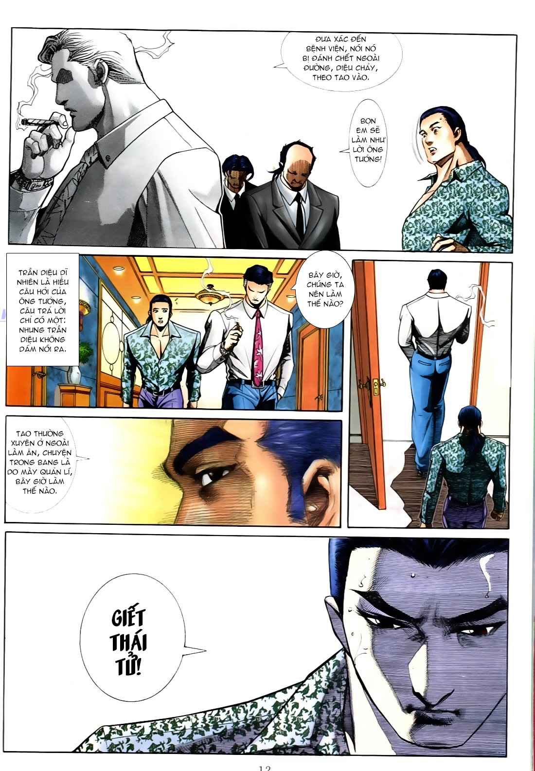 Người Trong Giang Hồ chapter 556: làm khó nam đẹp trai trang 6