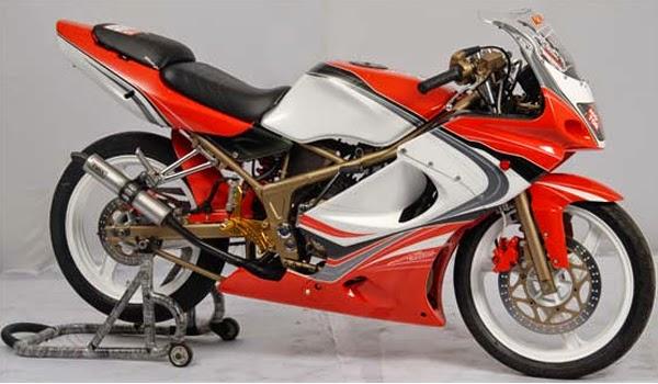 Modifikasi Motor Ninja 150 RR