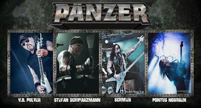 """Το τραγούδι των Pänzer """"Satan's Hollow"""" από τον νέο δίσκο της μπάντας που θα κυκλοφορήσει το 2017"""