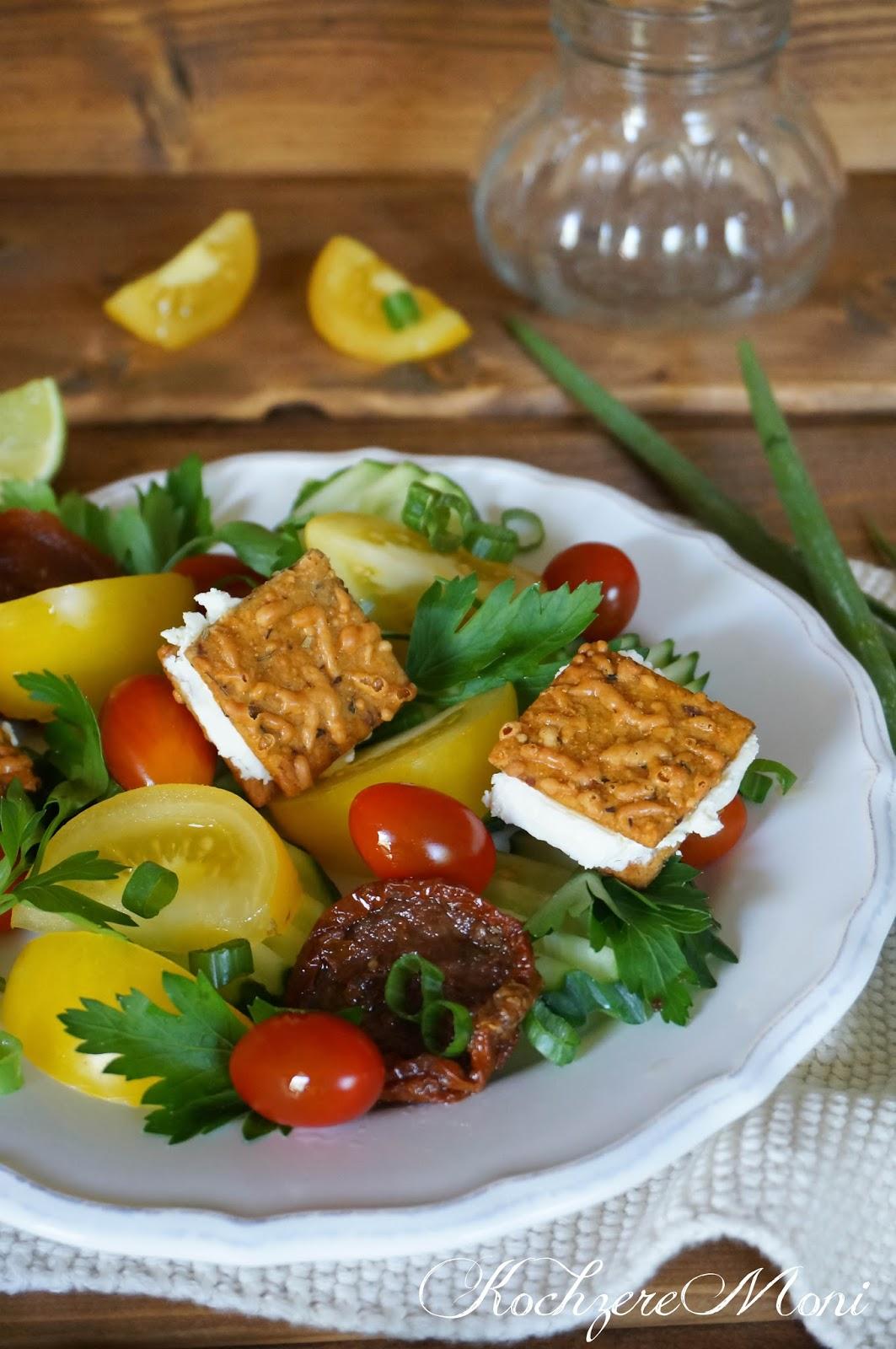 nat rlich und gesund tomaten petersilien salat. Black Bedroom Furniture Sets. Home Design Ideas