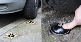 Νέα εφεύρεση θα τρυπάει τα λάστιχα όσων παρκάρουν παράνομα πάνω στα πεζοδρόμια