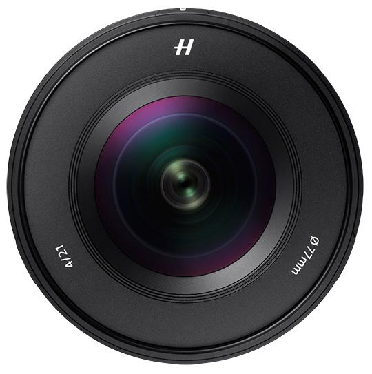 Hassleblad XCD 21mm f/4, вид спереди