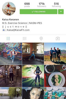 kaisa fit instagram fitness guru famous interview