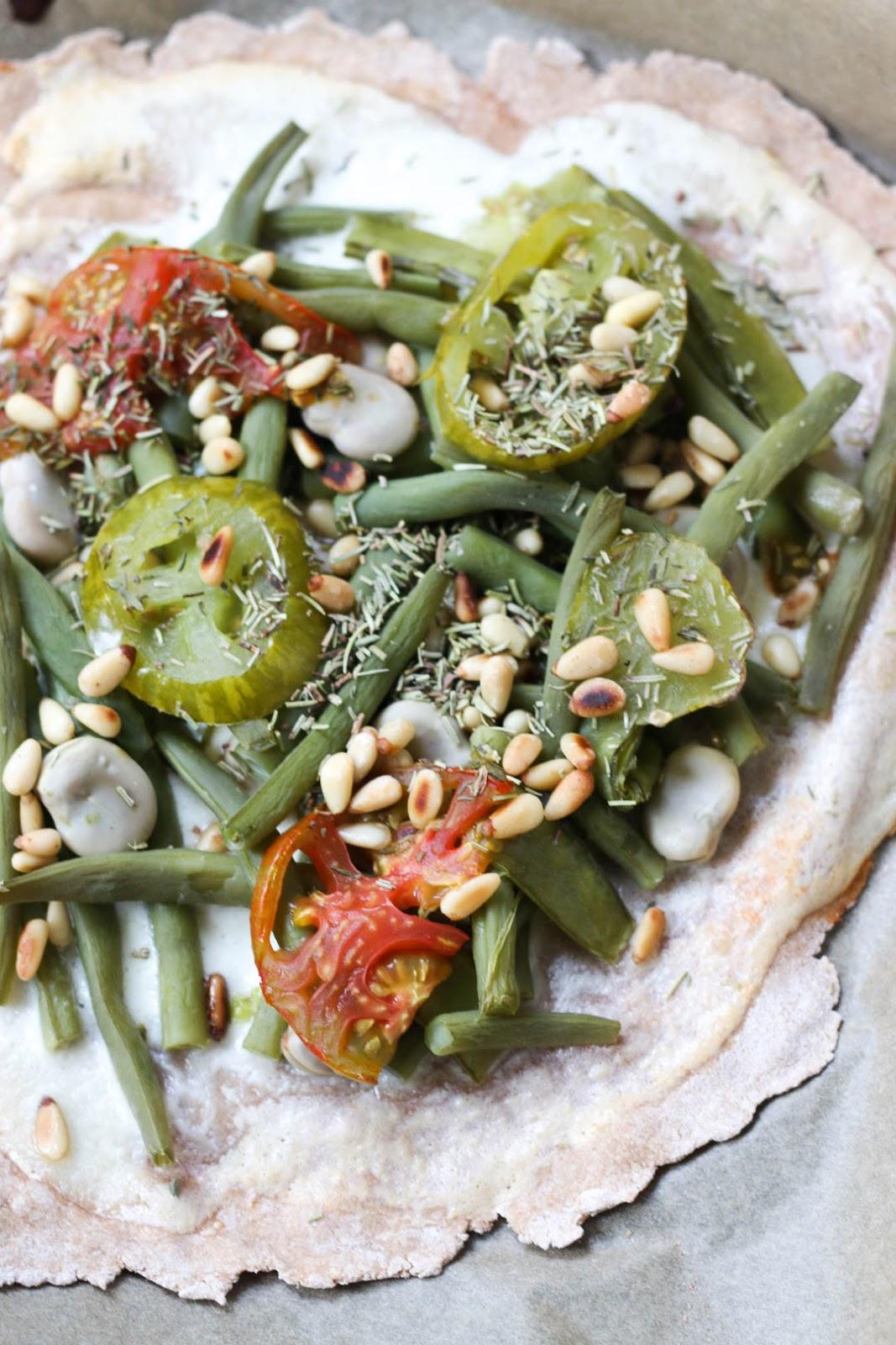 Ackermomente, Ernte, Bohnen-Pizza, Bohnen, Stangenbohnen, Dicke Bohnen