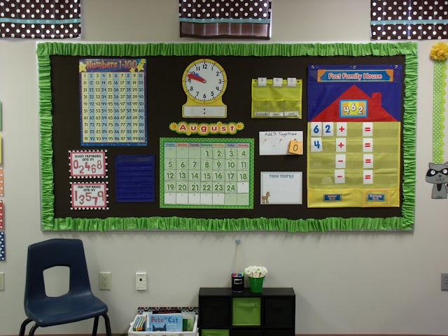 Calendar Display Ideas : I heart my calendar board primarily speaking