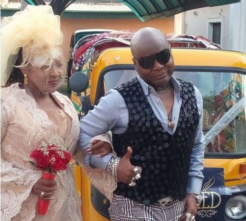 Charlyboy Remarries Lady Diane  After 40 Years in Abuja