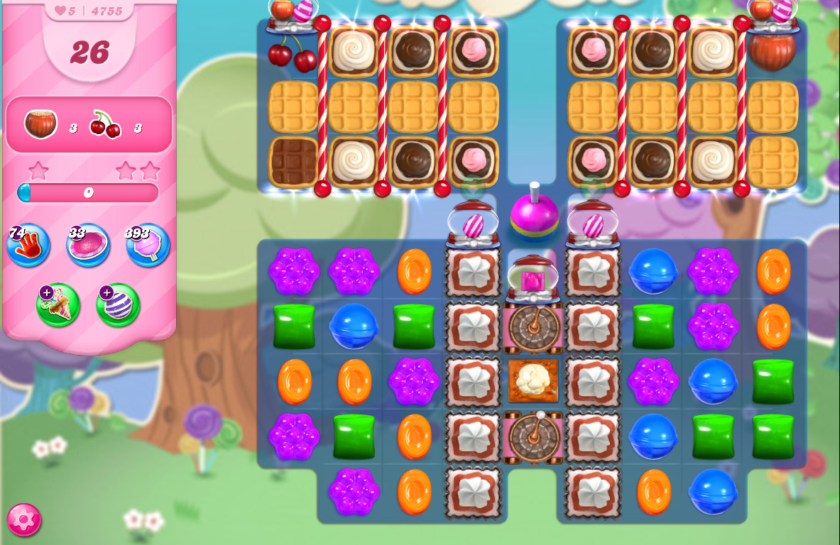 Candy Crush Saga level 4755