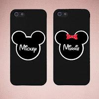 custom case couple Mickey Minie