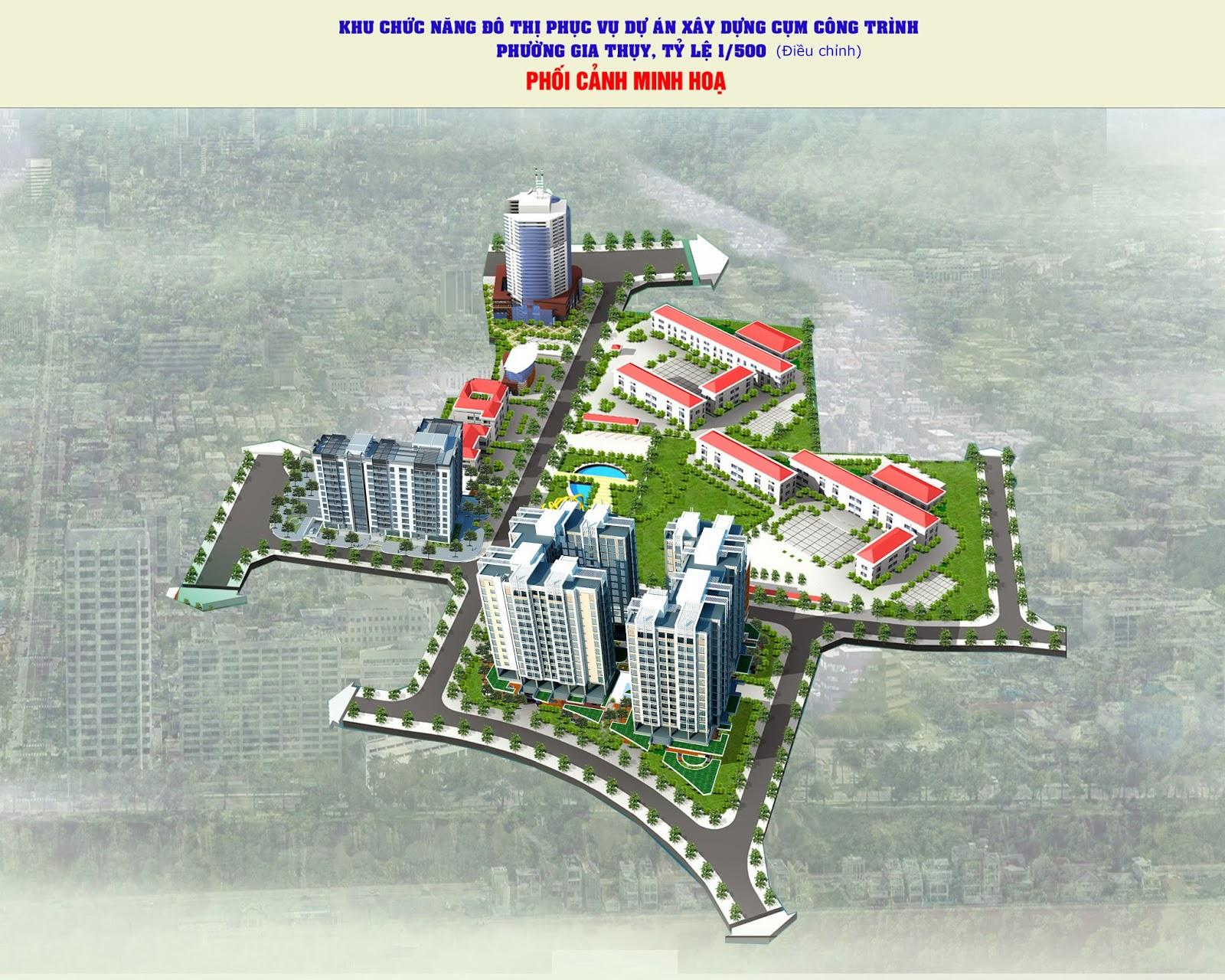 """""""nhà ở cho cán bộ công nhân viên Quận Long Biên"""" – LOTUS LAKE VIEW"""