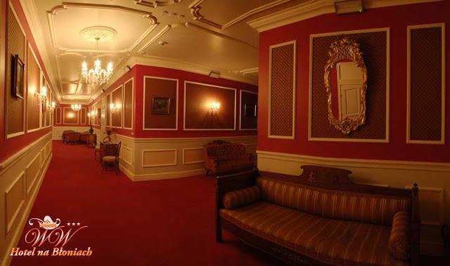 dekoracja holu sali weselnej