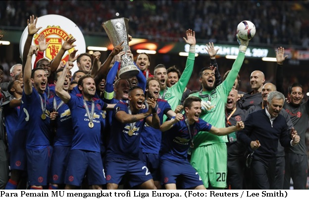 MU Juara Liga Europa 2017 - 2018
