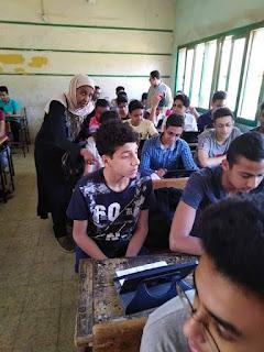"""""""التعليم"""": 409 ألف و704 طلاب بأولى ثانوي أدوا الامتحان الأحياء إلكترونياً"""