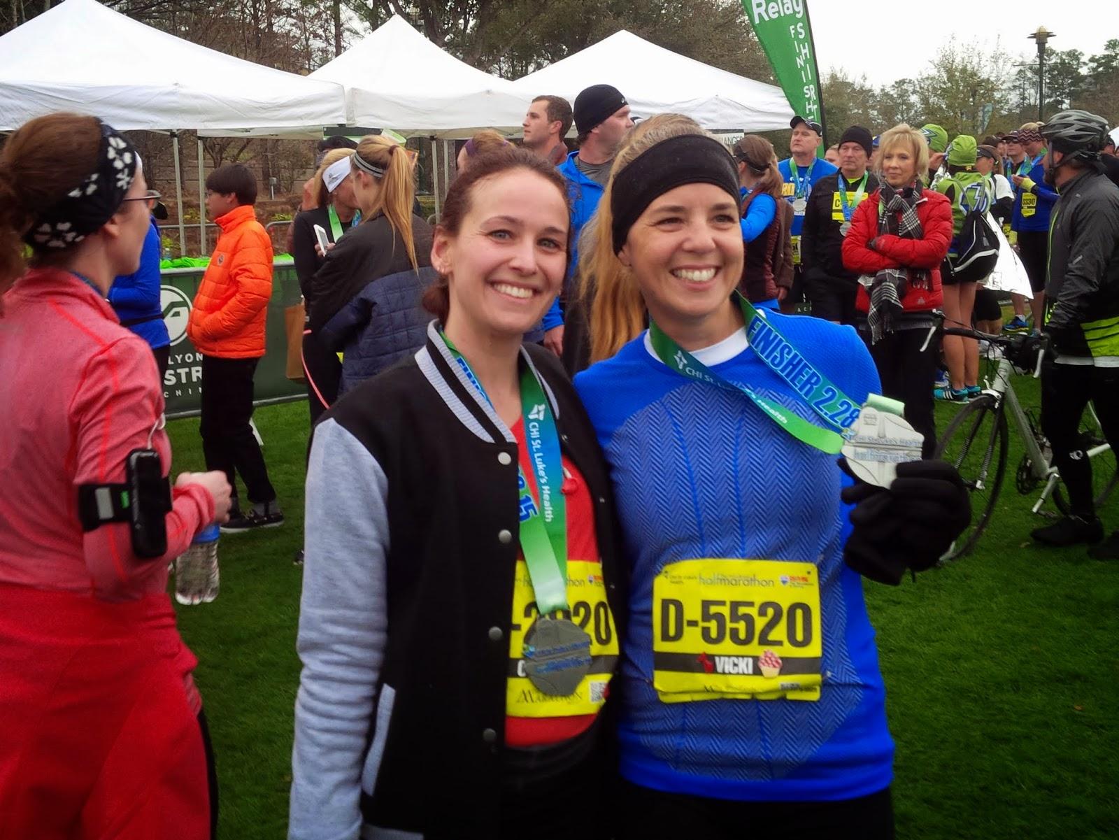 The Woodlands Half Marathon Finishers