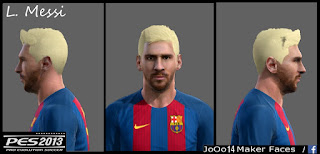Face Lioneo Messi PES 2013 BY JoOo 14