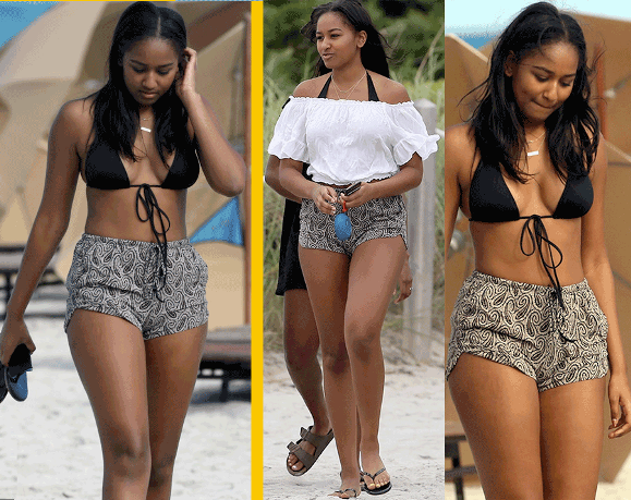 Hottest Sasha Obama spotted partying with 'Real Housewives of Potomac' star's daughter