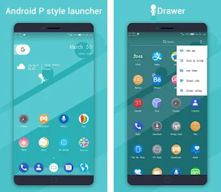 P 9.0 Launcher - Android™ 9.0 Pie Launcher cracked