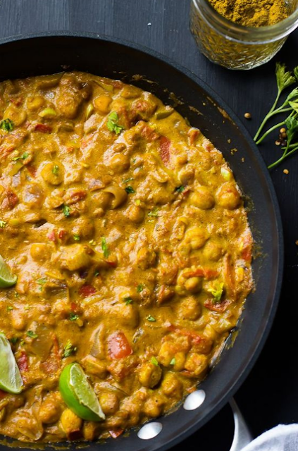 Coconut Chickpea Curry (Vegan & Gluten Free)