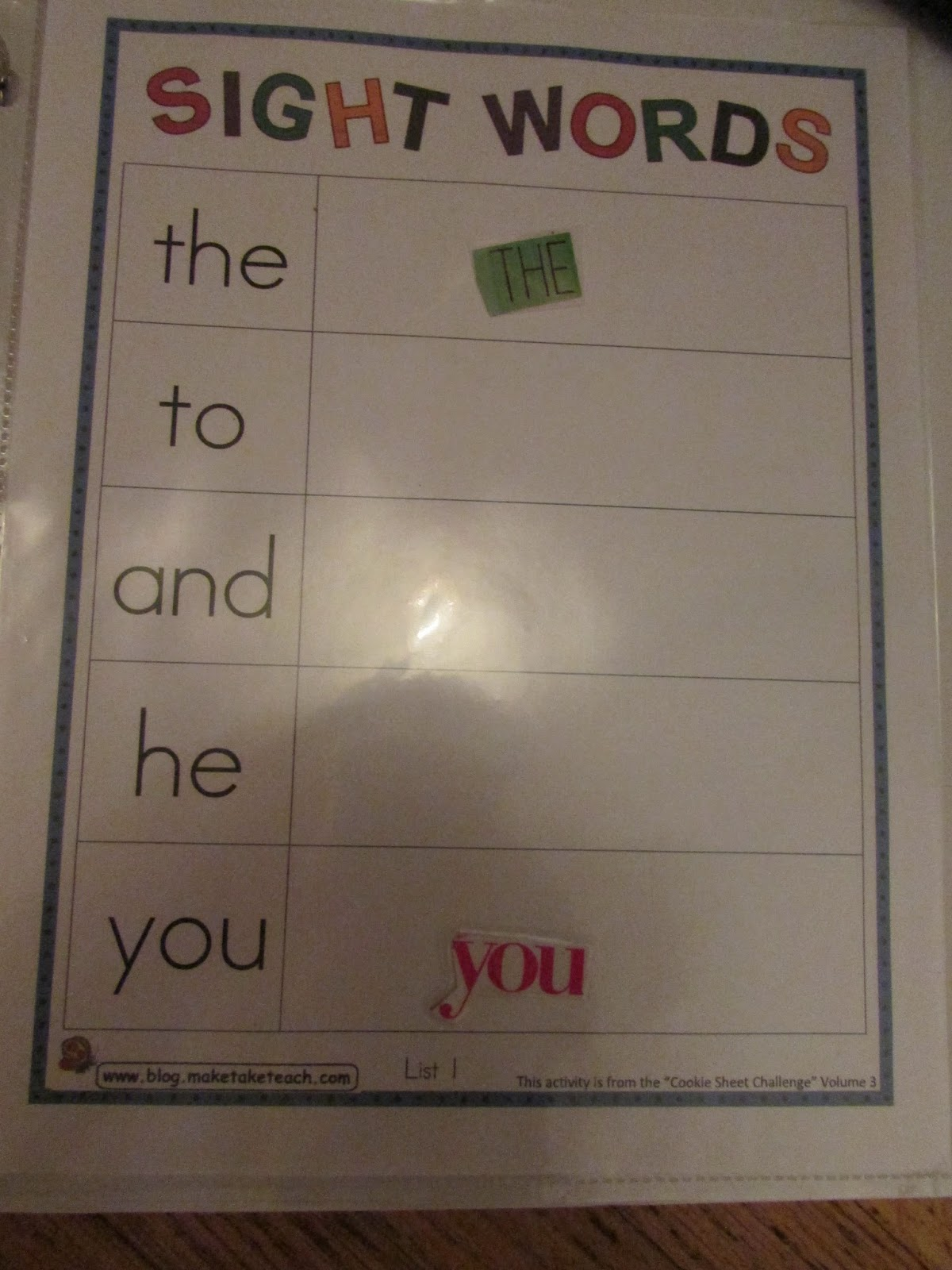 Simply Blessed Journey Of Life Alphabet And Sight Word Practice With Magazine Letters