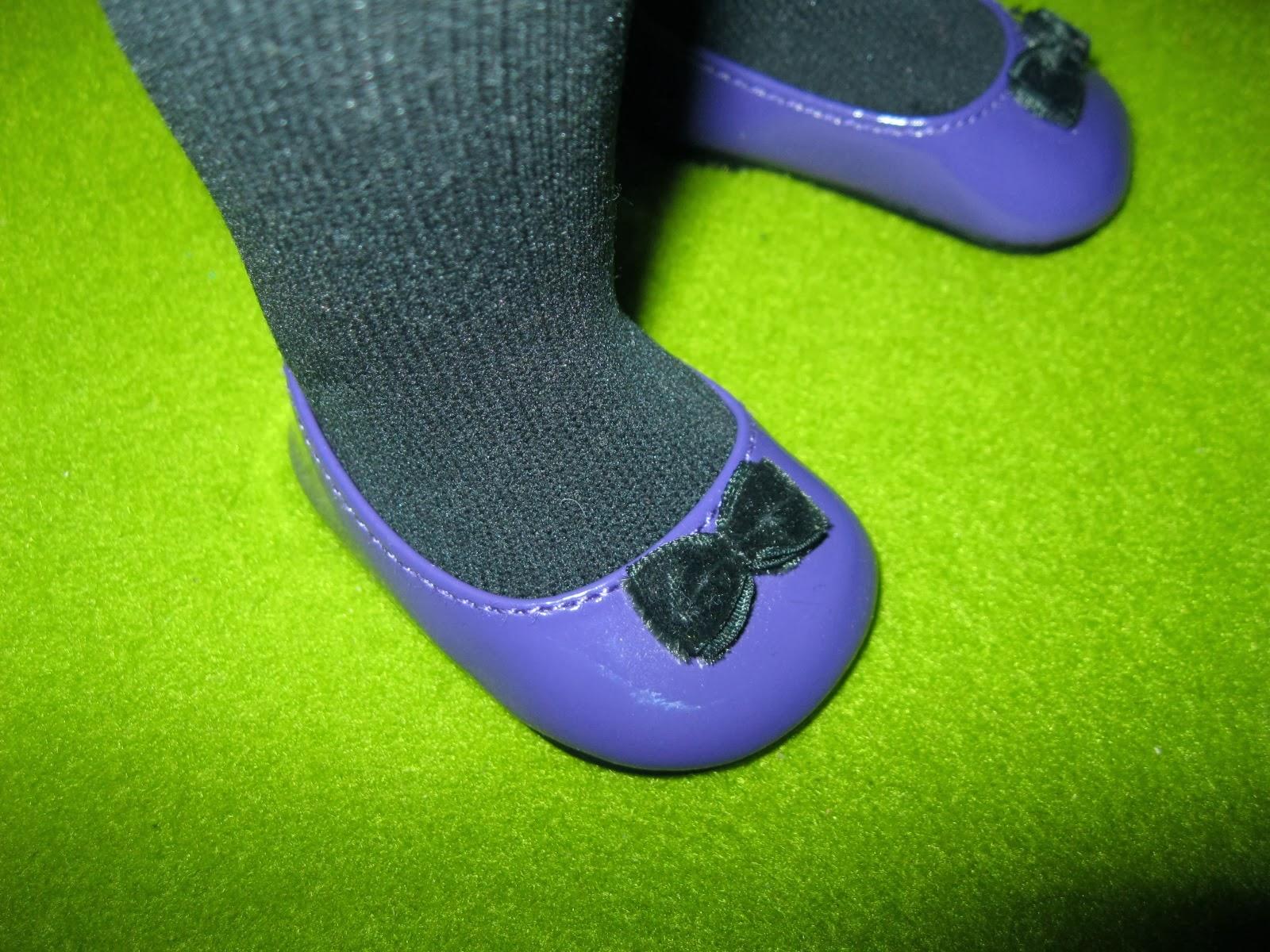 Black Patent Velcro Shoes