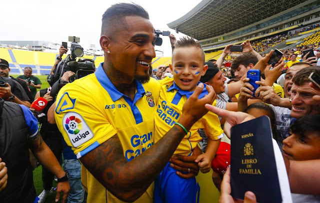 Kevin-Prince Boateng back with the goals at Las Palmas