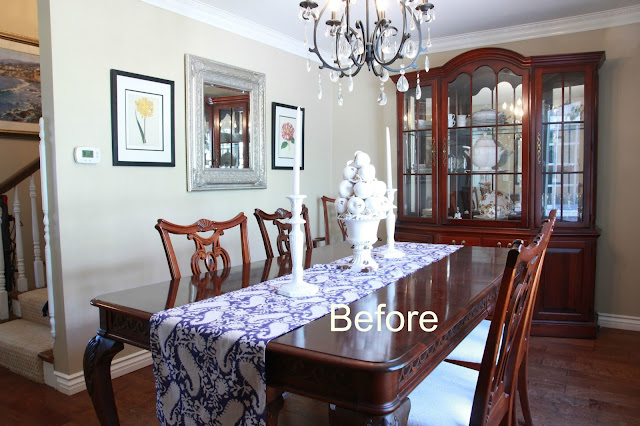 Classic casual home dining room refresh without for Homes without dining rooms
