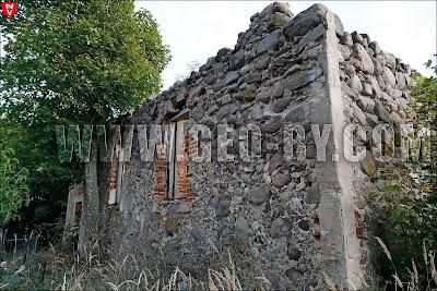 Куковичи. Крестовоздвиженская церковь. Руины