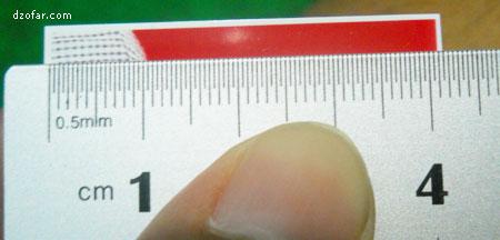 Panjangnya tidak 4cm!