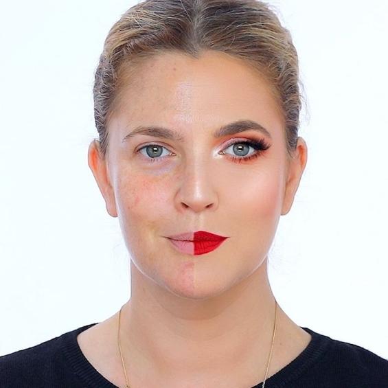 power of the make up makeup artist puts makeup on kim kardashian s