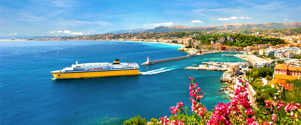 Lua de mel em Nice