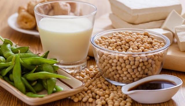 fuentes de proteínas vegetales - soya