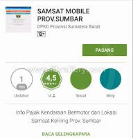 Cek Pajak Online Kendaraan Sumatera Barat