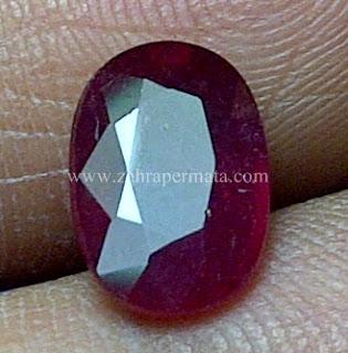 Batu Permata Red Ruby - ZP 644
