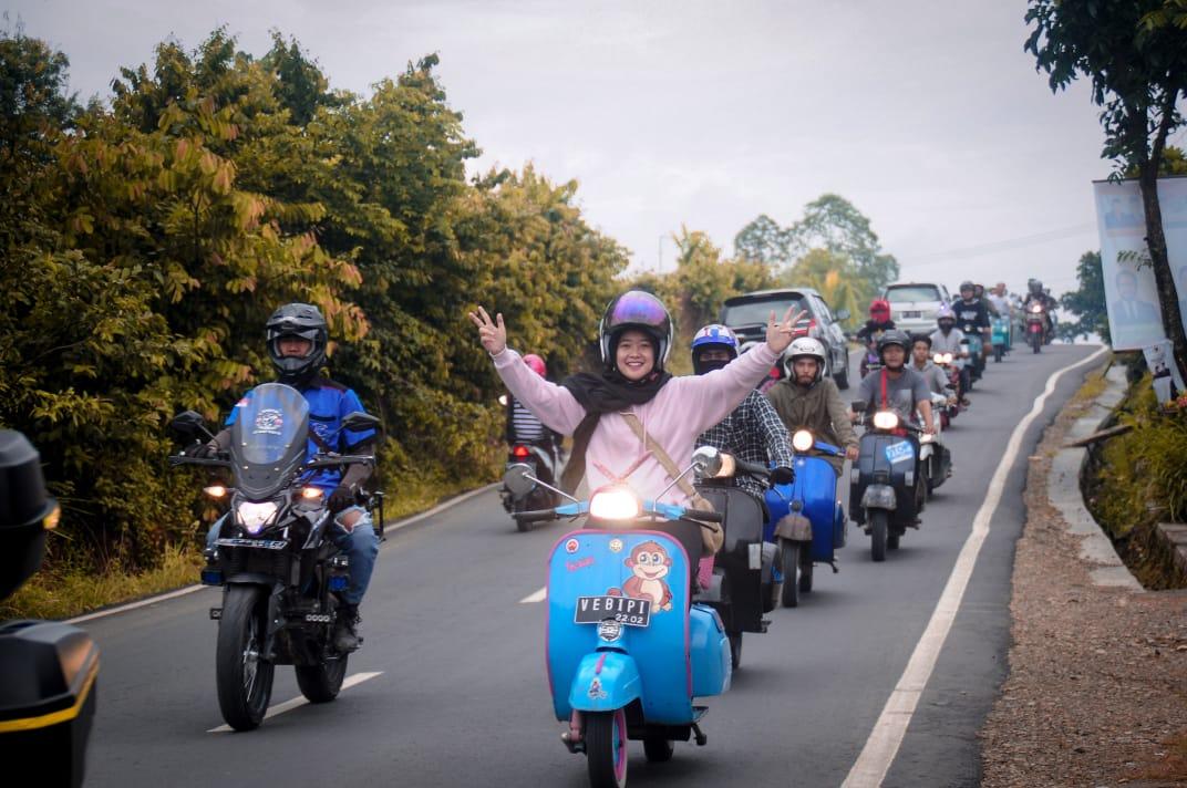 Bikers Pringsewu Punya Minggu Isuk Motoran