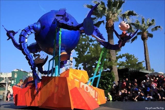 Parade, Disney's Adventure Park