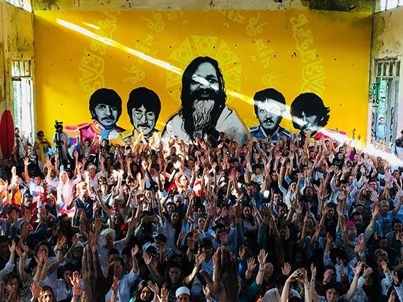 Rishikesh, haut lieu mondial du yoga popularisé par les Beatles