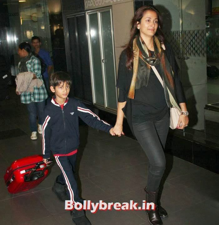Vihaan Oberoi, Gayatri Joshi, New Year Celebrations: Various Celebs Snapped at Airport