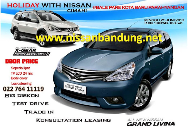 Showroom Event Holiday With Nissan di Nissan Bandung