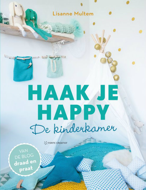 Haak je happy, Draad en Praat (foto Forte Creatief) | Happy in Red