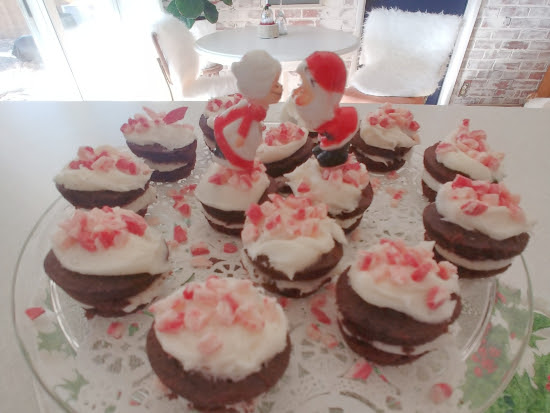 Peppermint Brownie Bites (for the non-baker) - Twelve Days of Christmas