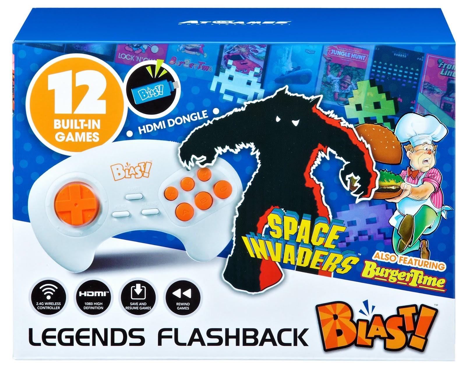 The Edge: AtGames Legends Flashback Blast!