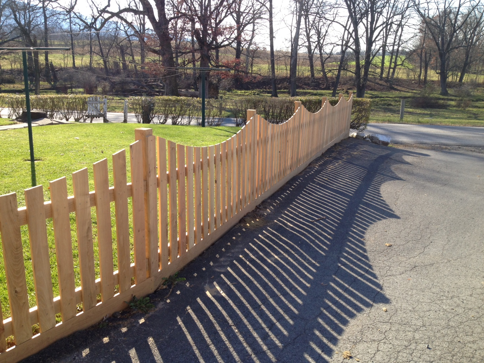 Giving New Life To Trees Black Locust Decorative Fence