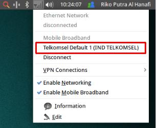 cara instal modem pada linux