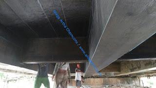 Spesifikasi Carbon Fibre Perkuatan Beton rehabilitasi jembatan