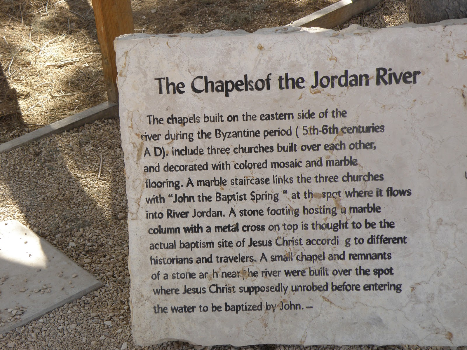 super popular b1253 ed9ce where to buy a stone plaque about the chapels of the jordan river . 6696f  f2109