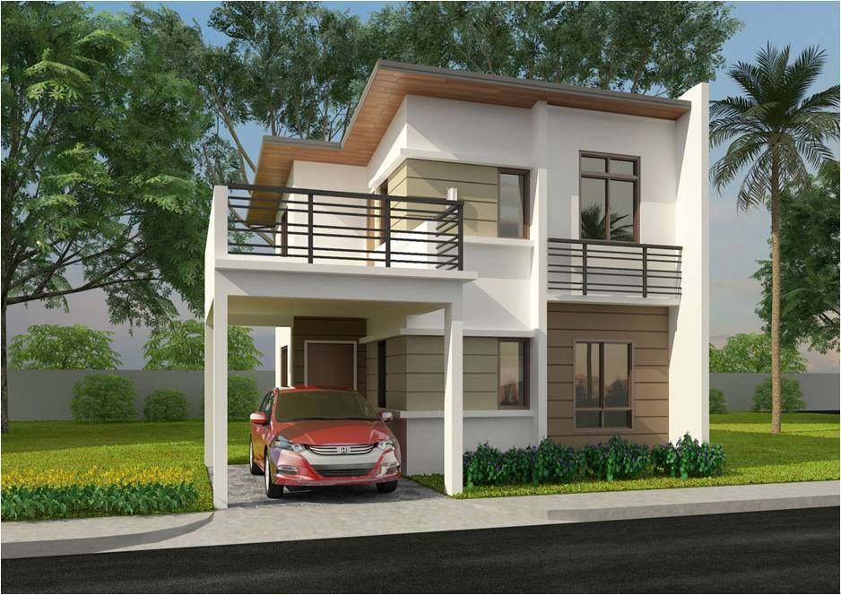 Do It Yourself Home Design: 50 Low Cost Two Story House Designs For Small Land Area
