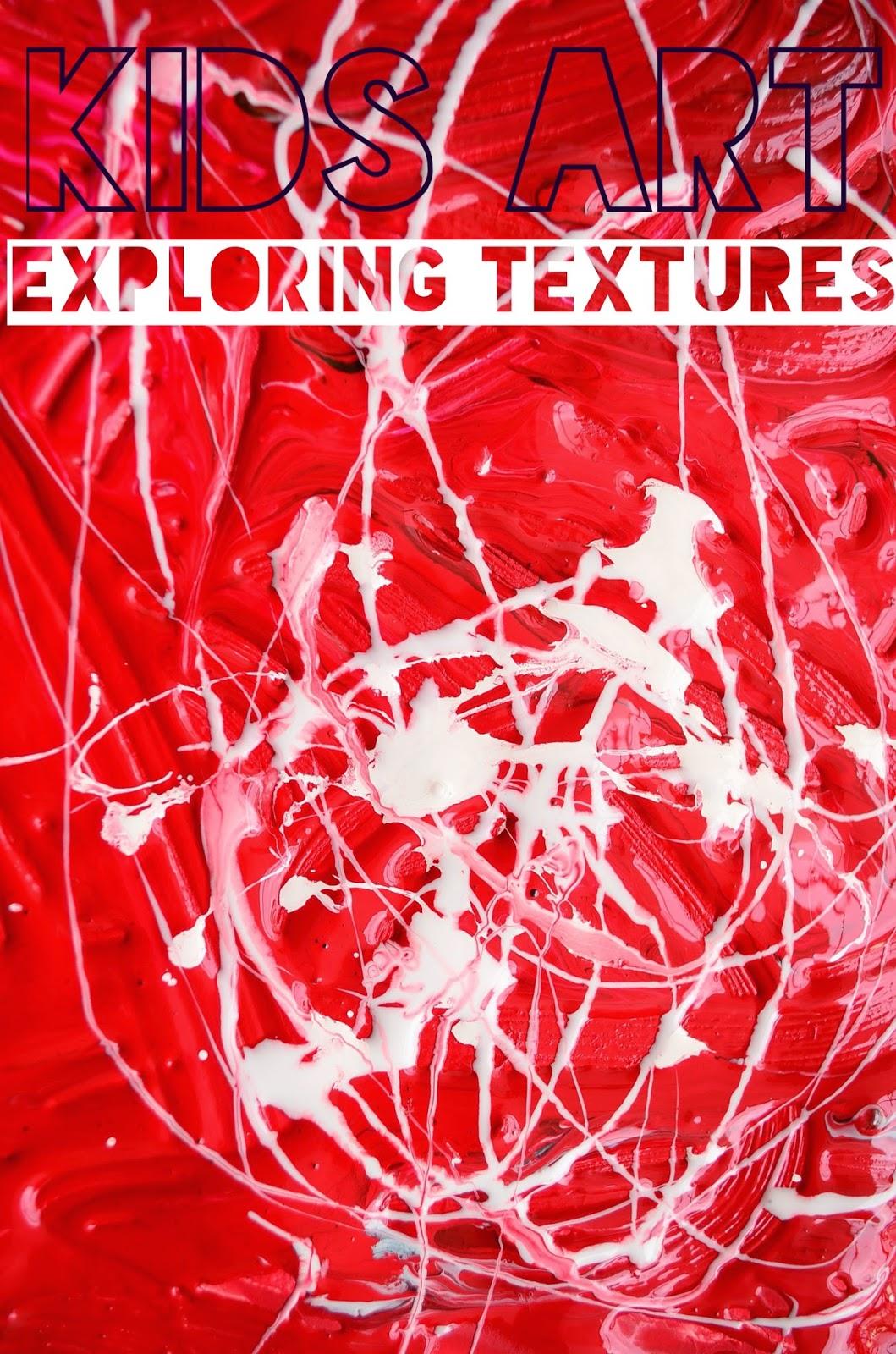 Process Art Exploring Textures with Preschoolers: The Practical Mom