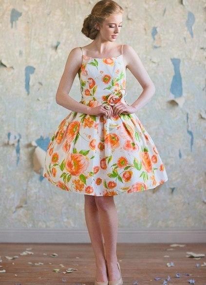 Mujeres Y Vestidos De Moda Mvm Los Vestidos Floreados En El